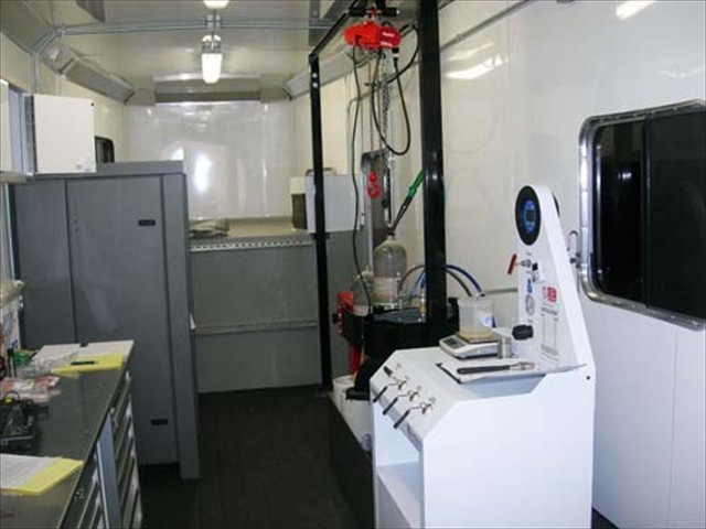 Inside the Oilind Safety Mobile Unit