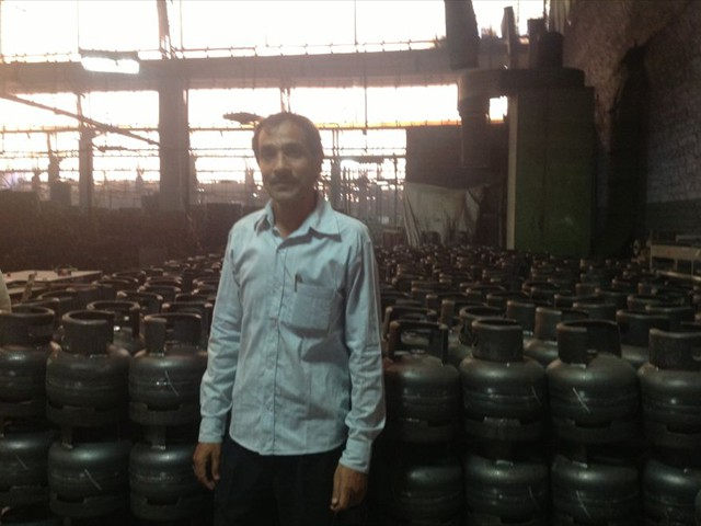 Mauria Udyog LTD., India, manufactures 20,000 cylinders daily.