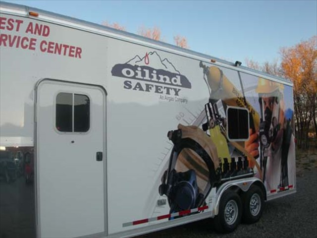 Oilind Mobile Unit Trailer
