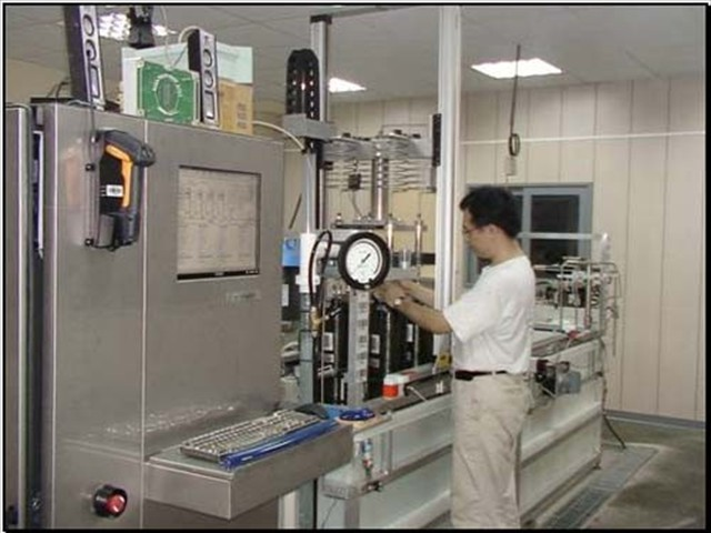 REC4 automated VHT for Small Composite Cylinders, AMS, Taiwan